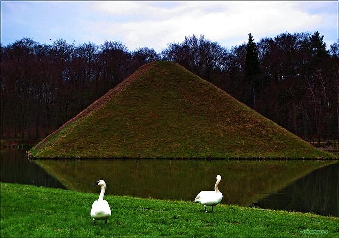 Парк и замок Браниц 73115