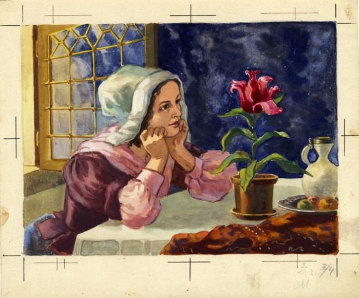 Дюймовочка. иллюстрация 6 (700x580, 105Kb)