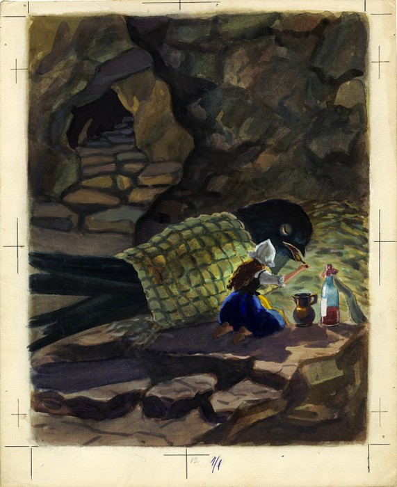 Дюймовочка. иллюстрация 16 (571x700, 101Kb)