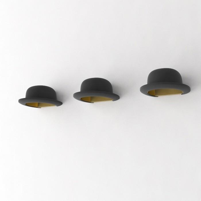 Настенный декор интерьера с помощью шляп 9 (700x700, 32Kb)