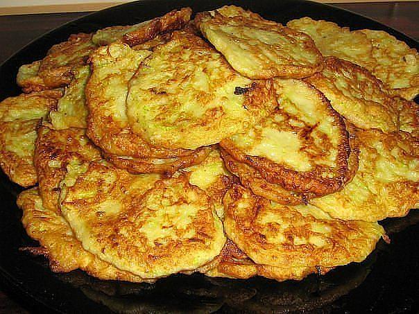 оладьи из кабачков с капустой рецепт фото