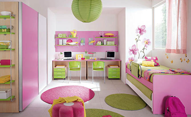 Kids-Room-Cute-Pink-Stylish-Interior (670x410, 74Kb)