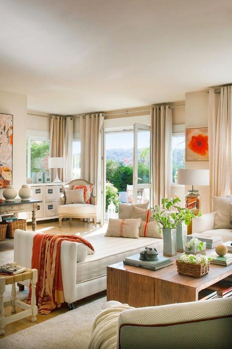 Стиль шебби шик в интерьере одной испанской квартиры 6 (466x700, 340Kb)