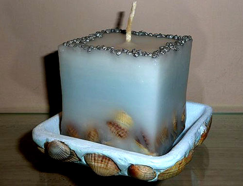 Свеча на торт своими руками