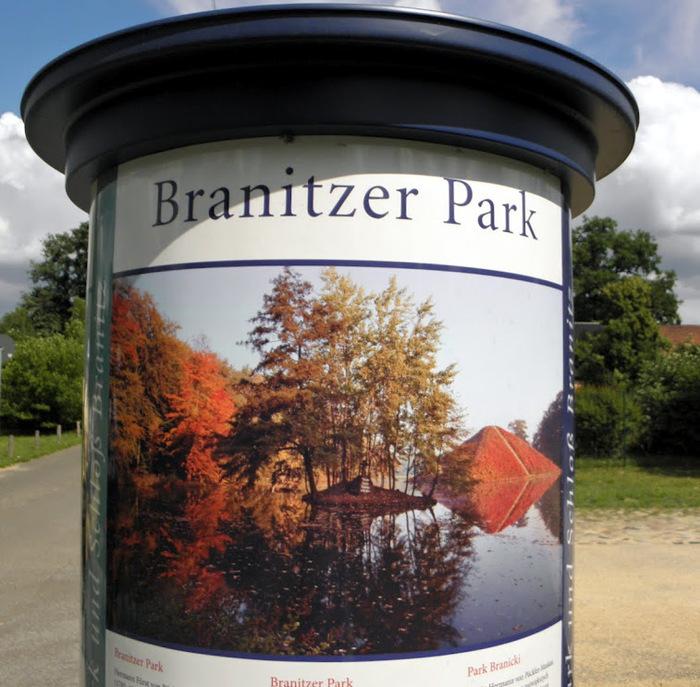 Парк и замок Браниц 63622