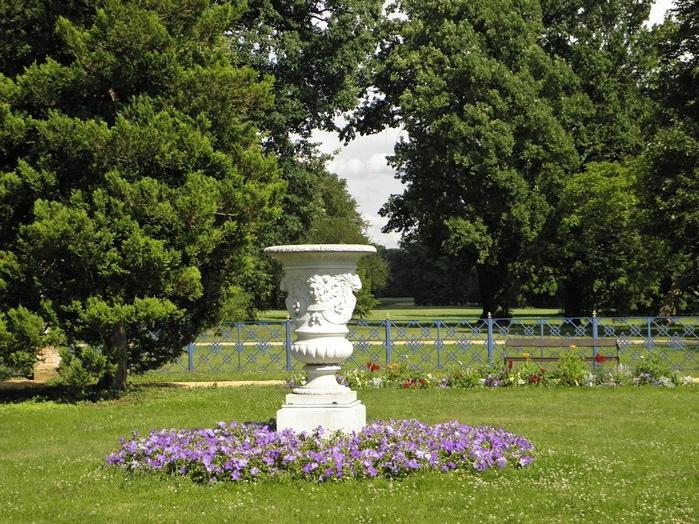 Парк и замок Браниц 27354