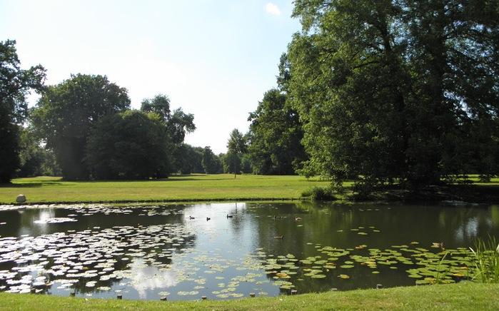 Парк и замок Браниц 19345