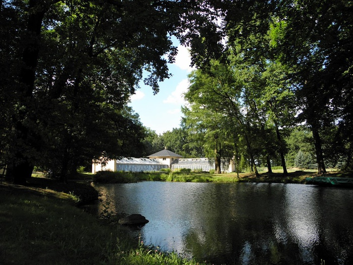 Парк и замок Браниц 78608