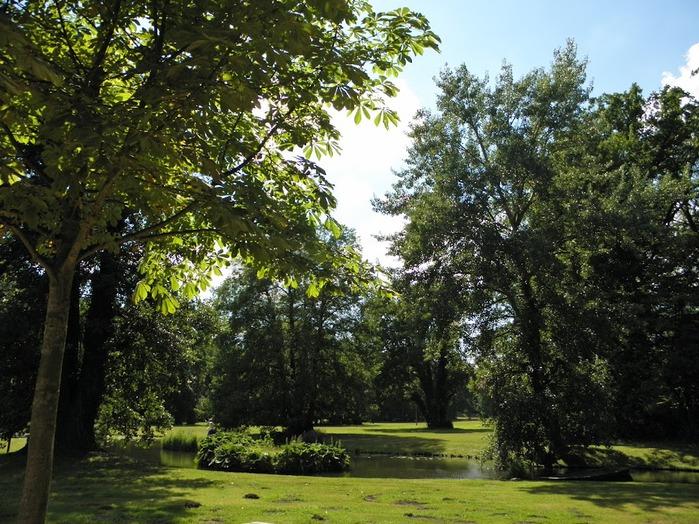 Парк и замок Браниц 44219
