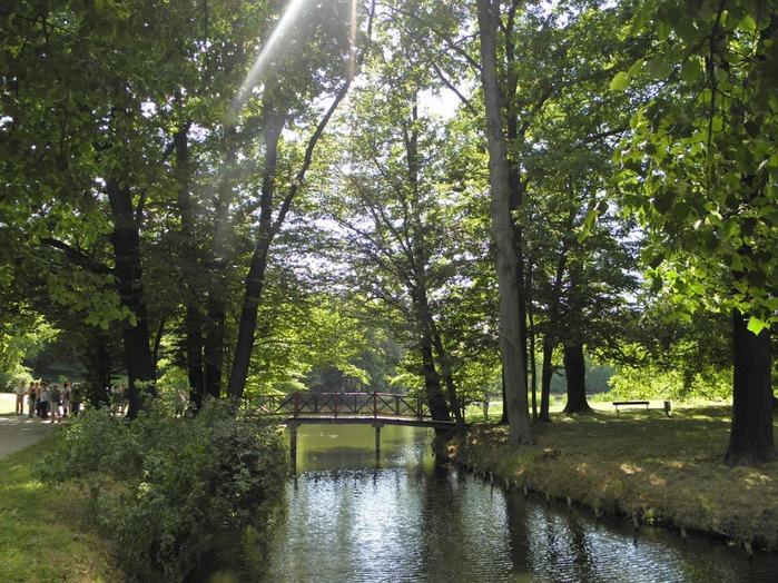 Парк и замок Браниц 17414