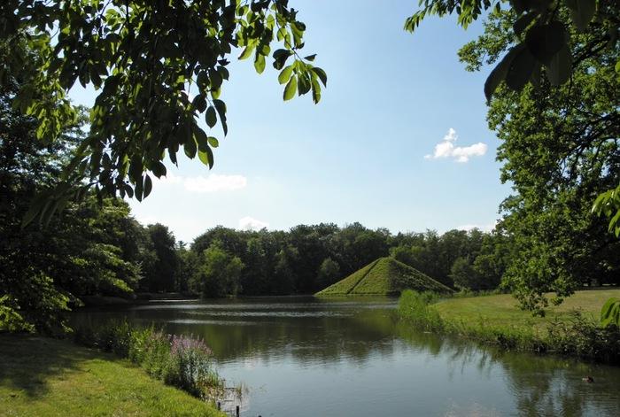 Парк и замок Браниц 15204