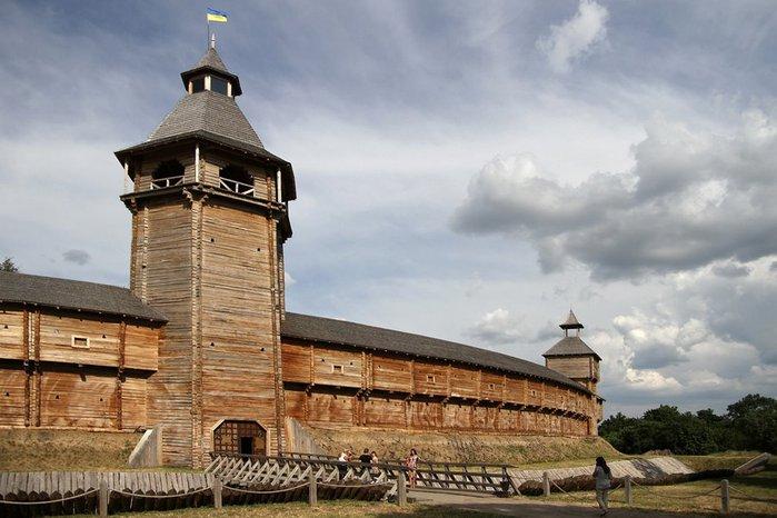 Батурин. Гетьманська столиця. Чернігівська область (700x466, 69Kb)