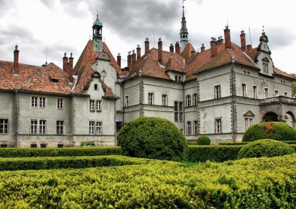 Замок Шенборн. Село Карпати. Закарпатська область (600x424, 58Kb)