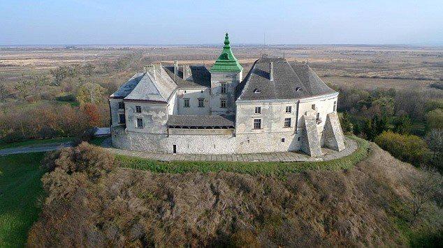 Замок. Олесько. Львівська область (634x356, 65Kb)