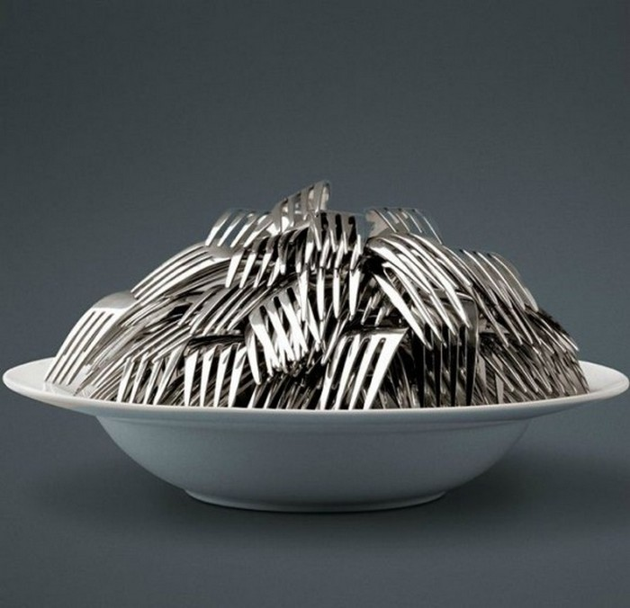 Креативная посуда фотографа Jean-Francois De Witte 5 (700x676, 75Kb)