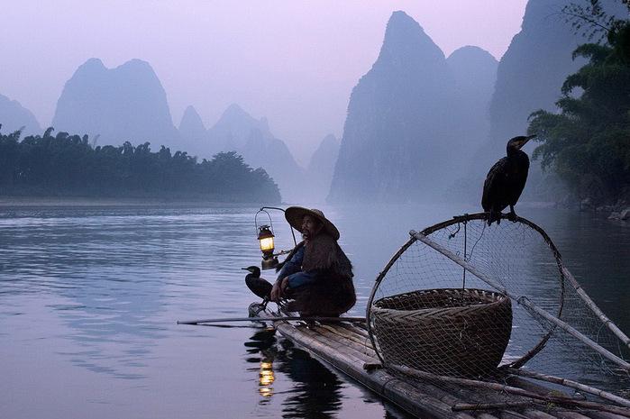 китайская рыбалка с бакланами 2 (700x465, 116Kb)