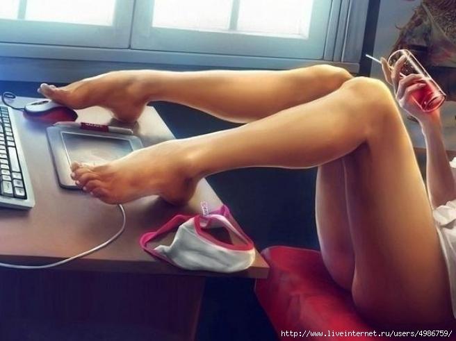 онлайн балерина без трусов