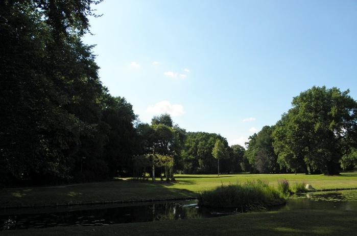 Парк и замок Браниц 56076