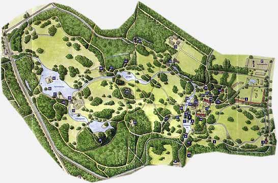 Парк и замок Браниц 92594