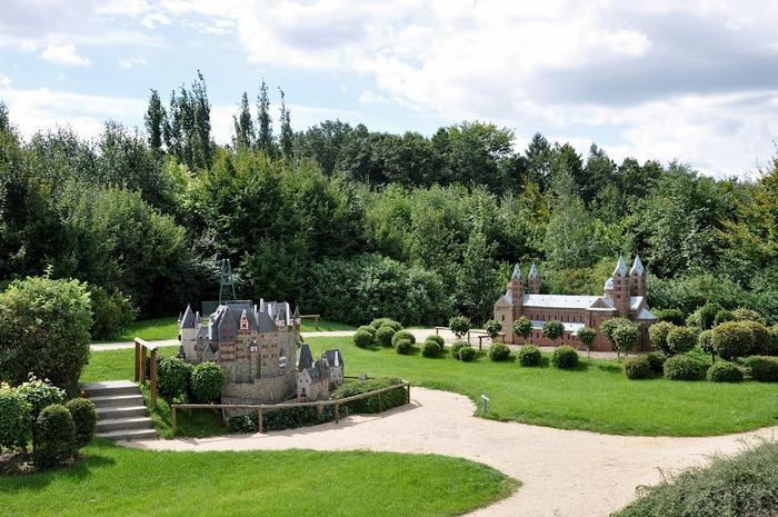 Парк миниатюр в Германии - Miniwelt Lichtenstein, Sachsen. 25581