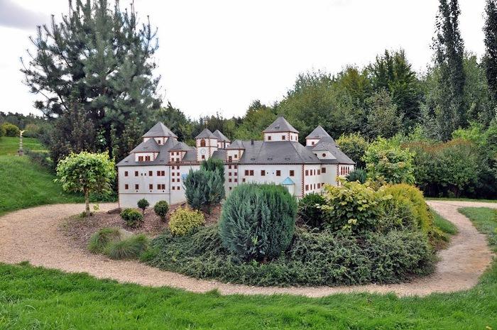 Парк миниатюр в Германии - Miniwelt Lichtenstein, Sachsen. 65413