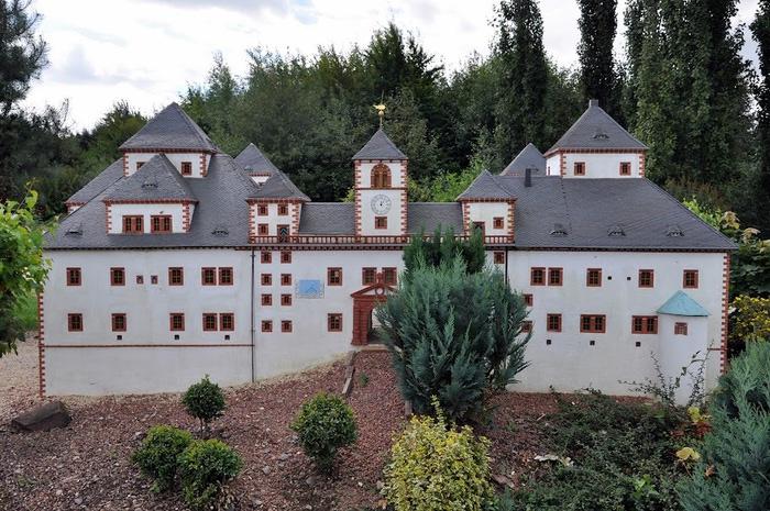 Парк миниатюр в Германии - Miniwelt Lichtenstein, Sachsen. 61937