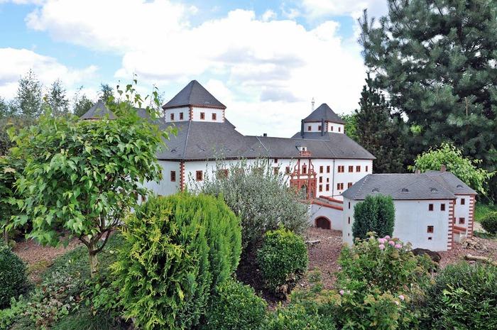 Парк миниатюр в Германии - Miniwelt Lichtenstein, Sachsen. 14253
