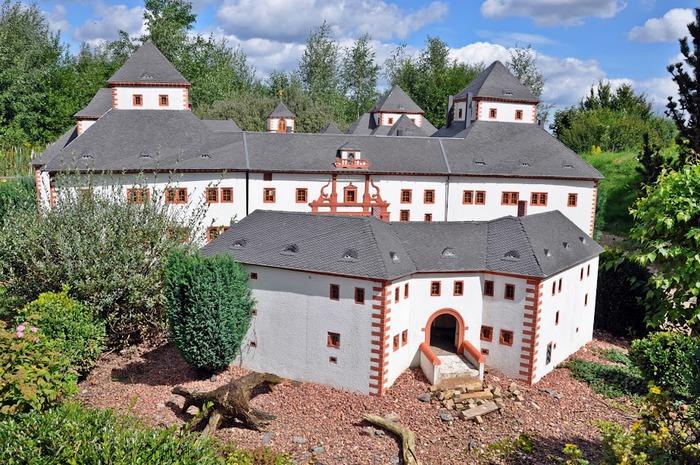 Парк миниатюр в Германии - Miniwelt Lichtenstein, Sachsen. 45575