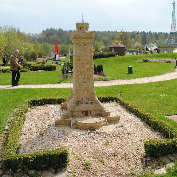 Парк миниатюр в Германии - Miniwelt Lichtenstein, Sachsen. 12008