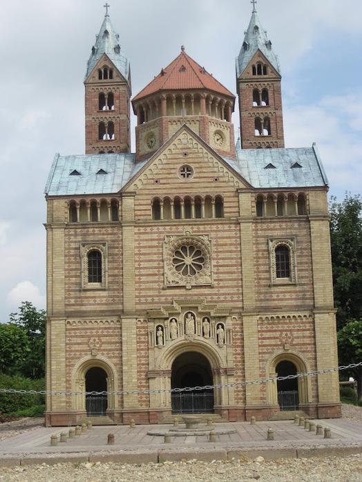 Парк миниатюр в Германии - Miniwelt Lichtenstein, Sachsen. 91055
