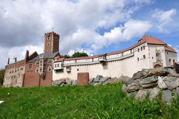 Парк миниатюр в Германии - Miniwelt Lichtenstein, Sachsen. 71163