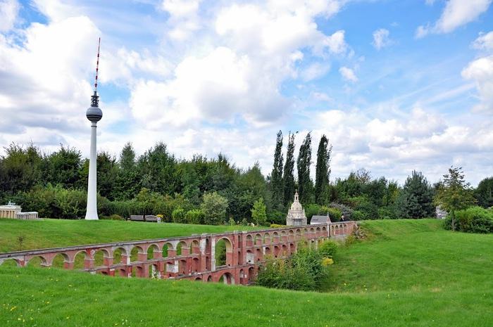 Парк миниатюр в Германии - Miniwelt Lichtenstein, Sachsen. 15435
