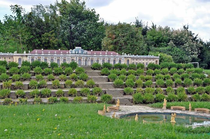 Парк миниатюр в Германии - Miniwelt Lichtenstein, Sachsen. 61539