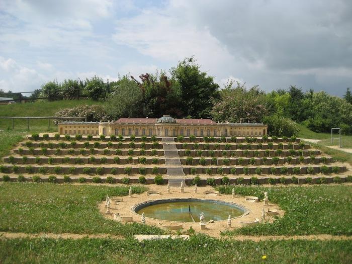 Парк миниатюр в Германии - Miniwelt Lichtenstein, Sachsen. 40008
