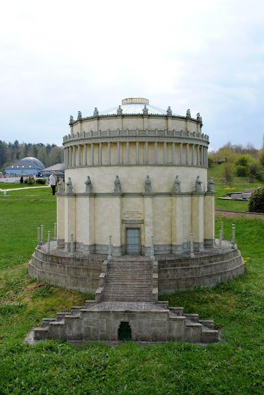 Парк миниатюр в Германии - Miniwelt Lichtenstein, Sachsen. 46876