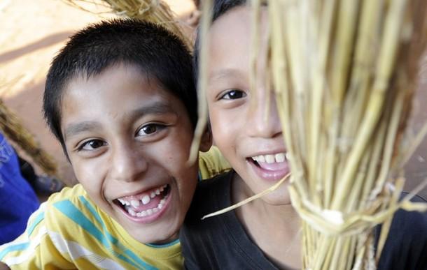 Праздник изгнания демонов 'Gathemangal' или Ghanta Karna в Бхактапур, Непал, 17 июля 2012 года