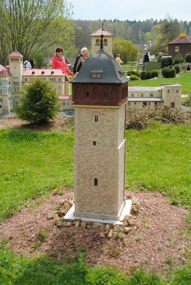 Парк миниатюр в Германии - Miniwelt Lichtenstein, Sachsen. 65820