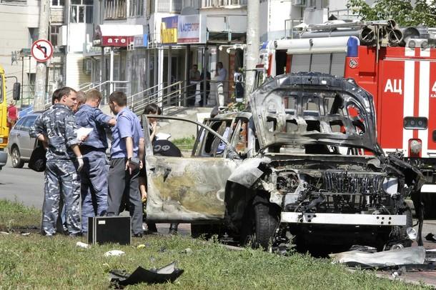 Взрыв заминированного автомобиля в Казани, 19 июля 2012 года