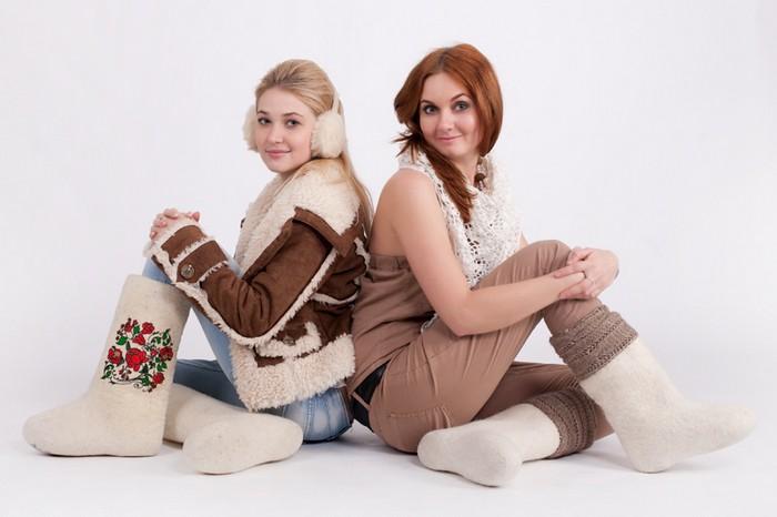Модные валенки - отечественный конкурент заморским уггам 3 (700x466, 63Kb)