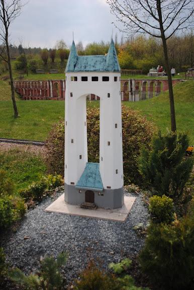 Парк миниатюр в Германии - Miniwelt Lichtenstein, Sachsen. 20749