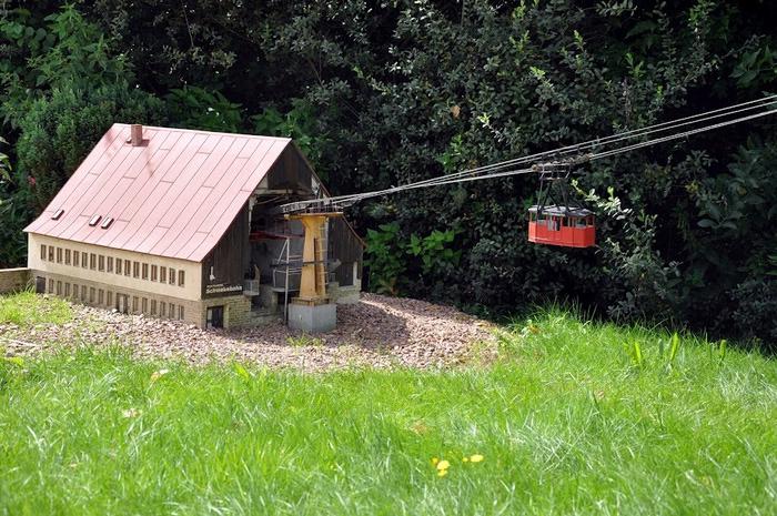 Парк миниатюр в Германии - Miniwelt Lichtenstein, Sachsen. 65360