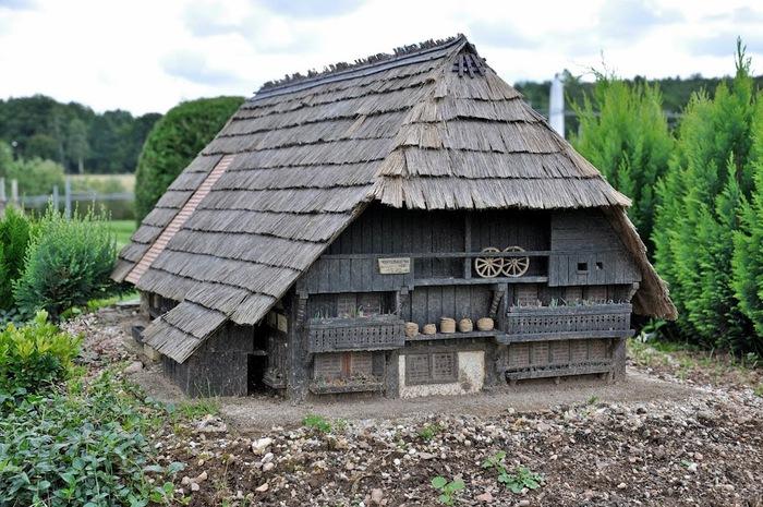 Парк миниатюр в Германии - Miniwelt Lichtenstein, Sachsen. 69065