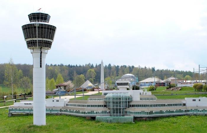 Парк миниатюр в Германии - Miniwelt Lichtenstein, Sachsen. 55983