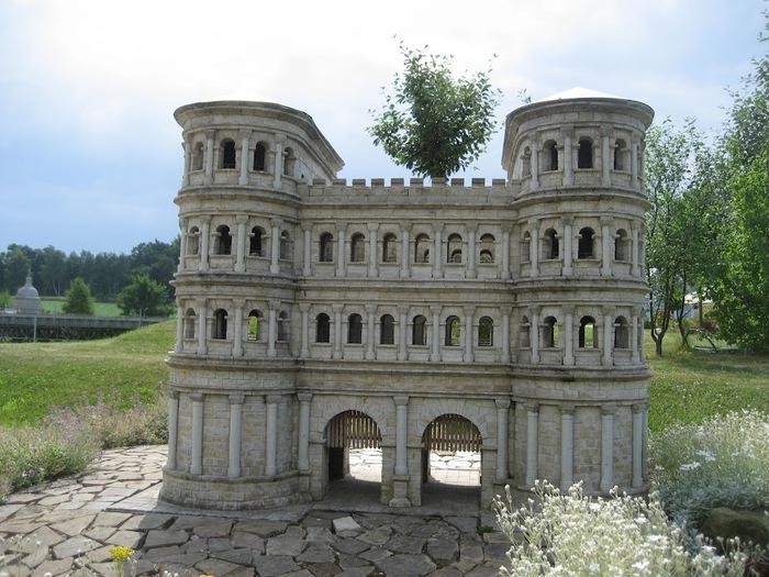 Парк миниатюр в Германии - Miniwelt Lichtenstein, Sachsen. 22791
