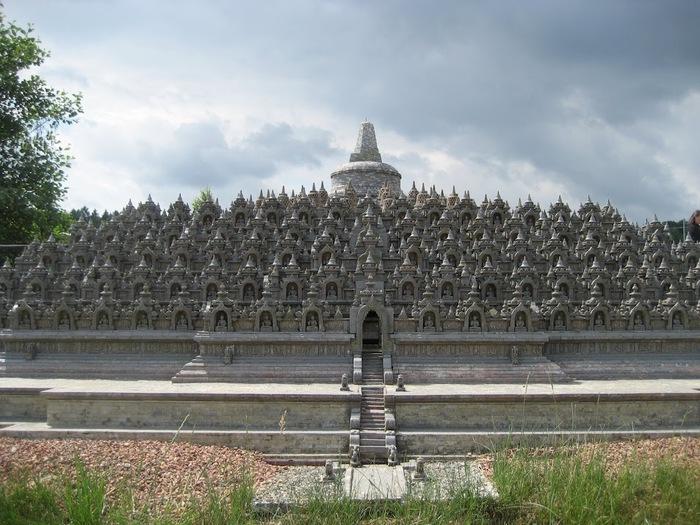Парк миниатюр в Германии - Miniwelt Lichtenstein, Sachsen. 95040