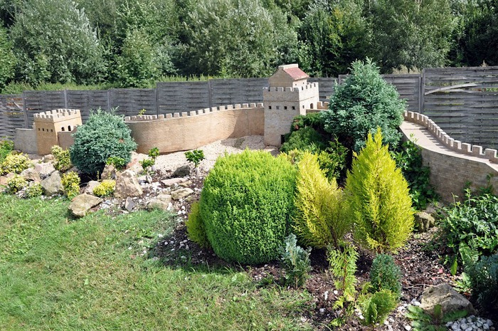 Парк миниатюр в Германии - Miniwelt Lichtenstein, Sachsen. 78522