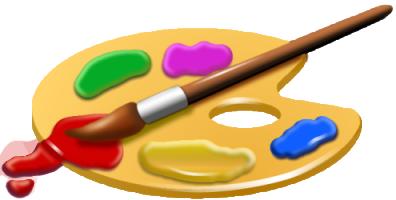 палитра краски кисть (396x200, 86Kb)