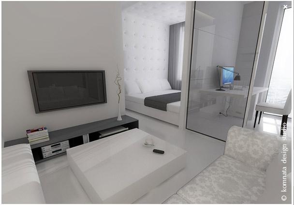 Дизайн интерьер маленькой квартиры фото