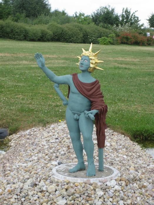 Парк миниатюр в Германии - Miniwelt Lichtenstein, Sachsen. 86283
