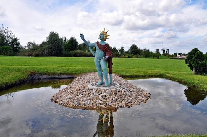 Парк миниатюр в Германии - Miniwelt Lichtenstein, Sachsen. 78606